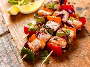 recpie-carib-island-tuna-shrimp-kabobs