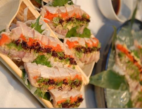 Canadian Albacore Tuna Tataki